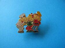 1992, Kellogg's Cereal pin badge. Snap, Crackle & Pop. (Rice Krispies) VGC