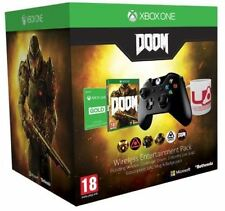 XBOX ONE Wireless Controller + Doom + 3 months Live Gold + Mug + Badge