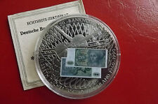 * Liberia 1 $2002 PP Nickel Silver/farbenapplic. * 20 Mark Figure 1963 (KAS I)
