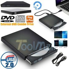 Slim External DVD Drive RW USB 2.0 CD Writer Drive Burner Player PC Laptop US
