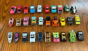 lot of 30 Vintage MICRO-MACHINES 1980's Galoob Mini Cars Boats Trucks