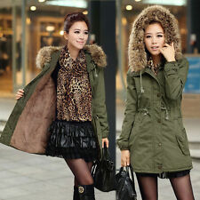 Hip Length Cotton Zip Patternless Coats & Jackets for Women