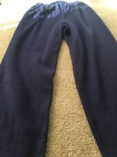 Cabin Creek Adult Jogging Sweat Pants Sz XL Blue Bottoms Clothes