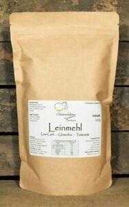 Leinsamenmehl 2kg teilentölt low carb - Mehl - Leinmehl glutenfrei