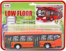 Centy Toys Low Floor Bus (Orange Color) Pull Back Action Perfect Gifts Of Kids