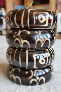 Set Of 4 Handmade Bangles