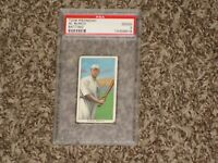 Al Burch T206 Piedmont Batting Iconic Set 1909 Brooklyn NY RARE CARD PSA 2
