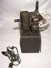 Vintage Kodascope Model C 1924 16mm projector working with box and power cord