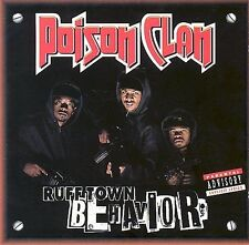 """Ruff Town Behavior by Poison Clan - FREE 12""""x12"""" POSTER w/ PURCHASE"""