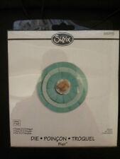 Sizzix Bigz Large DIE Cutter Flor 3-D con flecos se ajusta Cuttlebug & Wizard 657115