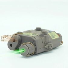 DE PEQ 15 LA-5 Dummy Battery Case Model & Green laser F548