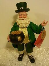 Possible Dreams Pot O'Gold Irish Santa Exclusive  !