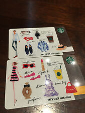 Starbucks Japan 2016 'His and Her' Card - PIN Intact