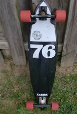 Z FLEX 76 Long board Skateboard Complete Deck Wheels Trucks