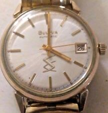 Vintage Bulova N2 Automatic Mens Watch - Swiss