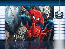 Riesiges Papier Tapete 360x270cm Spider-Man Comic Hero Wandbild für Kinderzimmer