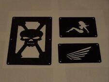 Honda Rancher Fender Warning Tags / Label / No decal 2014 to Present Models
