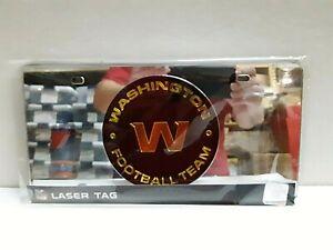 Washington Football Team NFL Silver Laser Tag License Plate