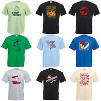 Camiseta Dibujos Película Televisión con Licencia Retro - para Él o Ella