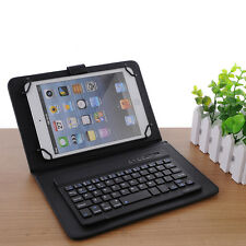 """7"""" Bluetooth Mute Wireless Keyboard Ultra Slim For WINDOWS Android IOS PC Laptop"""