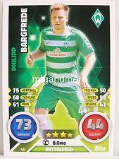 Match Attax 2016/17 Bundesliga - #048 Philipp Bargfrede - SV Werder Bremen