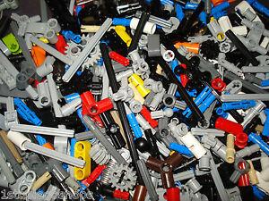 Lego Technic 300 Pieces Bushes, Pins, Axles, Connectors!
