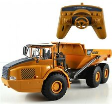 RC Truck Dump Engineering Vehicles Sand Car LED Construction Toy Kids Operation