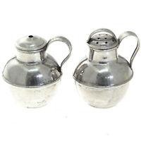 Sterling Silver Salt & Pepper Shakers William J. Holmes England 1926-30