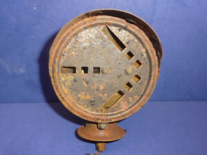 Vintage Connecticut Tel & Elec One Hood & Double Sided Arrow Turn Signal CT26