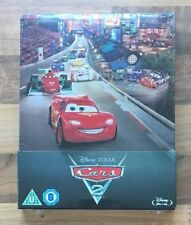 CARS 2 - LIMITED EDITION DISNEY / PIXAR STEELBOOK - 2D BLU-RAY NEW & SEALED