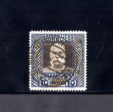 1987-AUSTRIA-.1908-13.FRANÇOIS-JOSEPH Iº.10 Kr.USED-Usado. LUXE