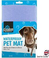 Pet Mat Waterproof Cat Dog Bed Car Home Mattress Heavy Duty Cover Blanket G080