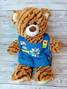 """Build A Bear Girl Scout 16""""  Samoas Coconut Cookie Teddy Bear Includes Outfit"""