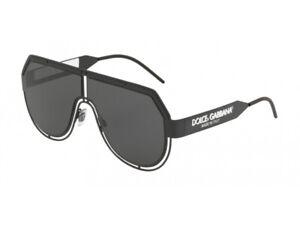 Sonnenbrille Dolce & Gabbana Authentic DG2231 327687 Schwarz Grau