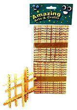 Building Lolly Lollipop Craft Sticks Natural 100 pcs