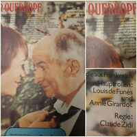 DER QUERKOPF | 1979 Kino Plakat Poster A2 | Louis de Funes Annie Girardot Zidi