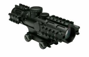 3-9x42 Compact Scope/3 Rail Sighting System/Blue Ill. P4 Sniper/Weaver Mount