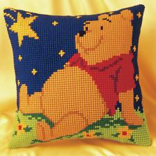 Disney Winnie The Pooh's Noche Estrellada Cojín Frontal - Juego de Punto de Cruz