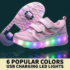 Kids Shoes Roller LED Shoes Unisex 2-12 years