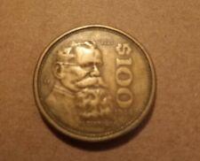 Mexico - 1984 - Mexican $100 Coin - Mexico City Mint - V. Carranza