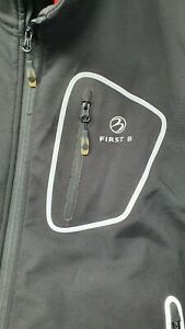 FIRST B Herren Funktionsjacke mit abnehmbaren Ärmeln Größe XL