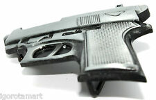 1x New Small Pistol Gun Imitation Men Woman's Jeans Belt Buckle - UK Seller