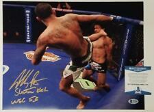"Anthony Pettis signed ""Showtime Kick"" 11x14 Photo UFC Autograph~ Beckett BAS COA"