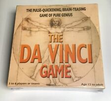 The Da Vinci Game Board Game By Fun And Games,New Sealed