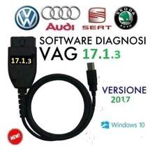 VAG-VCDS CAVO VW AUDI SEAT SKODA 2017 17.1.3 17.13 DIAGNOSI 1713 17.1.2 1712
