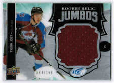 17/18 UD ICE TYSON JOST RRJ-TJ ROOKIE RELIC JUMBOS JERSEY 199 COLORADO AVALANCHE