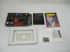 STARGATE Super Nintendo SNES Authentic Box And Inserts NO GAME CART!