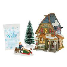 Dept 56 Dicken's 2017 Christmas Carol Poulterer's Shop Boxed Set #4056648 NIB
