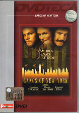Gangs of New York - DI CAPRIO,  Film in DVD, Anno 2002, 160 minuti - ST891