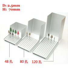 120 Holes Dental Autoclavable low Speed Bur Holder Block Silicone Rubber head